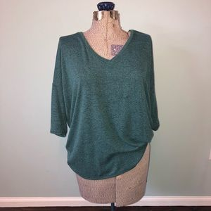 Express Teal Sweater